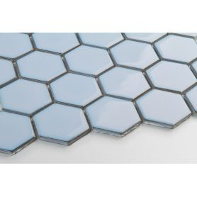 Hexagon bluebell – glossy large