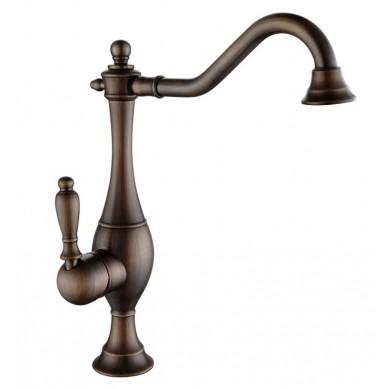 Gaspar - gold retro wash basin mixer