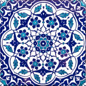 Taner - ceramic tiles from Turkey 20x20cm, pack of 12 (0.48 m2)