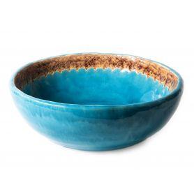 Melania - handmade turquoise basin