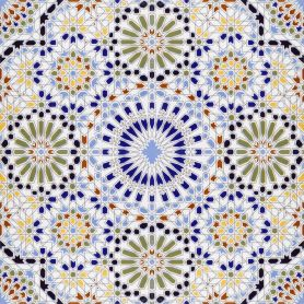 Zaha - Moroccan patterned tiles