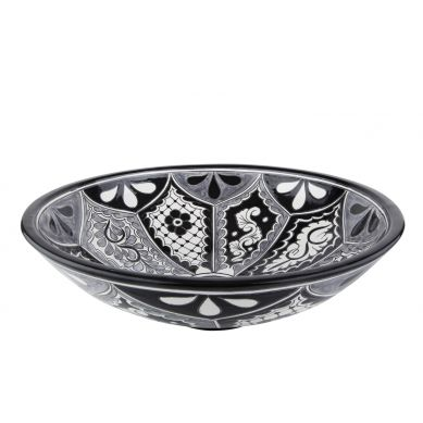 Atalaya - Black and white sink from Mexico