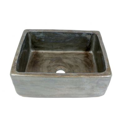 Gaja - Turkusowa umywalka z koronką
