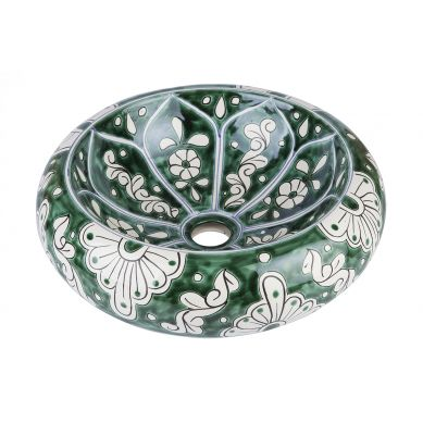 Baila - green Mexican sink