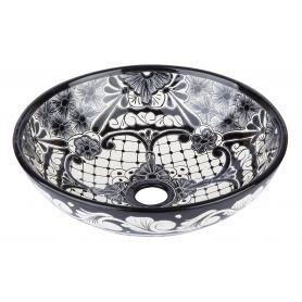 Serena- Black and white mini sink