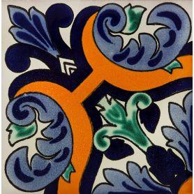 Santiago- color tiles from Mexico