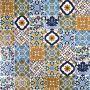 Wati - decorative patchwork from Tunisia 10 x 10 cm