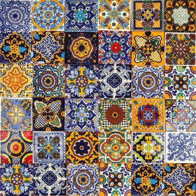 Colorido - a set of multi-colored wall decors
