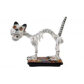 Gato y huesos - La Catrina's Mexican cat