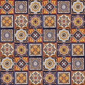 Gael - original Talavera tiles from Mexico - 30 pieces