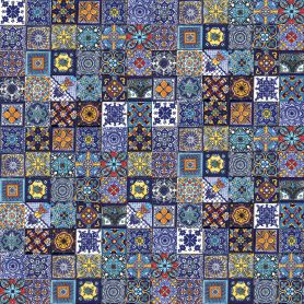 Tonito - small tiles patchwork - 5x5 cm