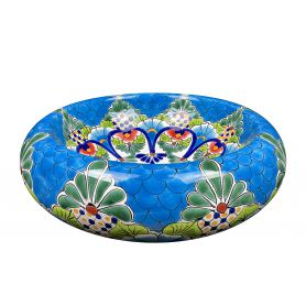 Serpiente - hand decorated washbasin from Mexico