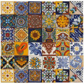 Conrado - Ceramic Mexican Patchwork