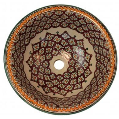 Borat - ceramic Moroccan basin