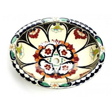 Orquidea - Mexican ceramic sink