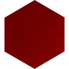 Asuman - heaxagonal one color tiles