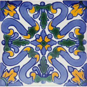 Flores - Hand-painted Tiles