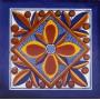 Fuego - Talavera tiles from Mexico