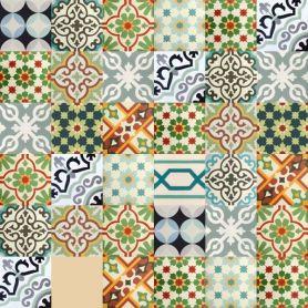 Patchwork - Moroccan Cement TilePatchwork