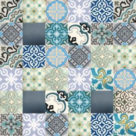 Patchwork - Moroccan Cement Tile