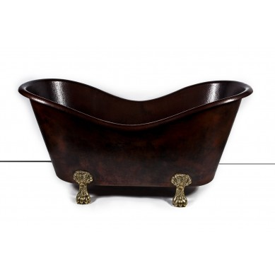 Gloria - copper bathtub with legs