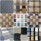 Floor mosaics / Plattas